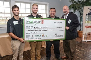 MidAtlantic Farm Credit awards MADTECH farms drones as winner of AgPitch18