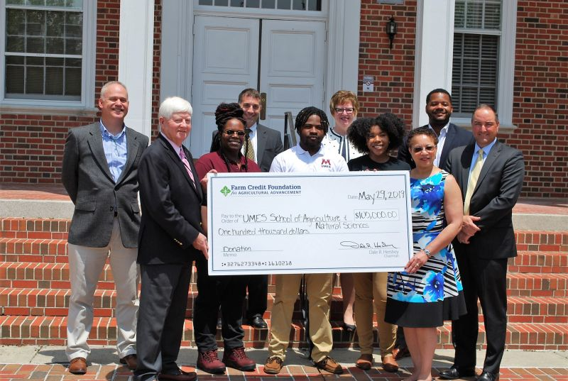 Farm credit foundation for agricultural advancement donates to University of Maryland eastern shore
