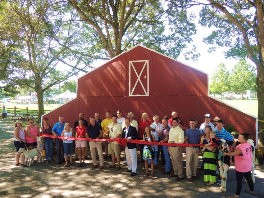 2015 Wicomico County Fair Ribbon Cutting