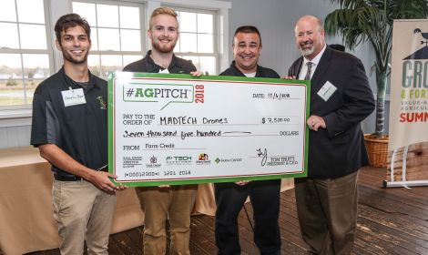 AgPitch18 Winners Marnane Agricultural Drone Technologies (MADTECH), LLC of Huntingtown, Maryland